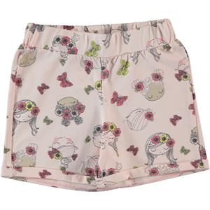 Cvl Powder Pink Shorts Boy Girl Age 6-9