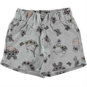Cvl 2-5 Years Boy Girl Gray Shorts