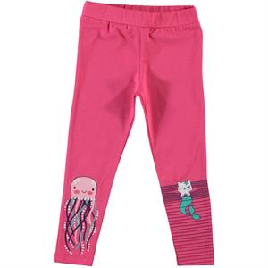 Cvl The Girl Child 2-5 Years Long Tights Fuchsia