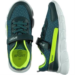 Sport Petrol Blue Sneakers Boy 31-35 Number