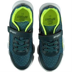 Sport Petrol Blue Sneakers Boy 31-35 Number (4)
