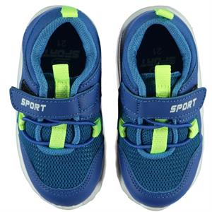 Sport Boy Blue Sneakers Saks 21-25 Number