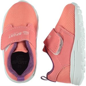 Sport 21-25 Kids Shoes Girl Pink Sport Number