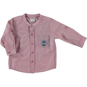 Civil Baby 6-18 Months Baby Boy Burgundy Shirt