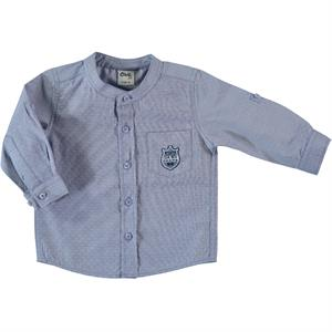 Civil Baby 6-18 Months Baby Boy Navy Blue Shirt