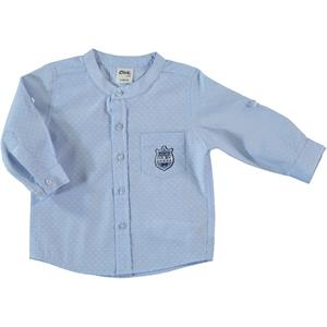 Civil Baby Baby Boy Shirt Blue-6-18 Months