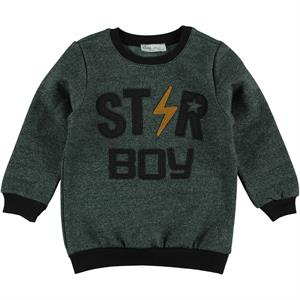 Cvl Yesil 2-5 Years Boy Sweatshirt