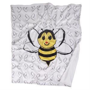 HANKIZ Canbebe Baby Blanket Yellow Bee