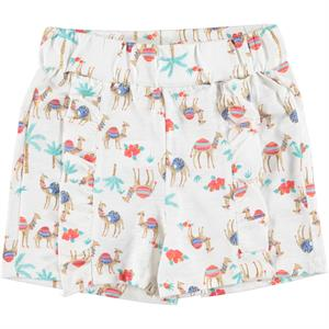 Cvl Age 6-9 Girl Boy Shorts Ecru