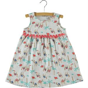 Cvl 2-5 Years Child Girl Dress Ecru