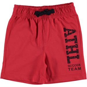 Cvl 2-5 Years Red Boy Shorts