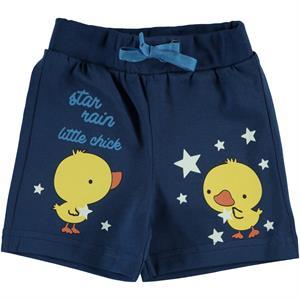 Kujju 6-18 Months Baby Boy Navy Blue Shorts