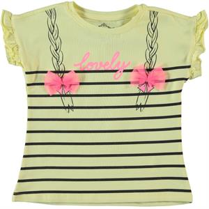 Cvl Girl Kids T-Shirt Yellow 2-5 Years