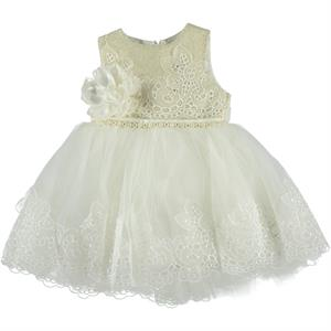 Civil Girls Ecru Lace Evening Dresses 2-5 Years Girl