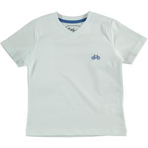 Cvl Erkek Çocuk Tişört 6-9 Yaş Beyaz