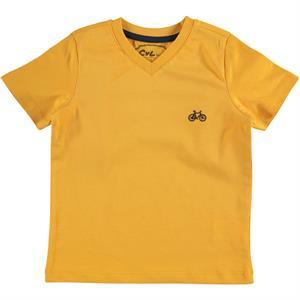 Cvl Erkek Çocuk Tişört 6-9 Yaş Hardal