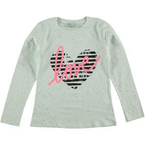 Cvl Kız Çocuk Sweatshirt 6-9 Yaş Pembe