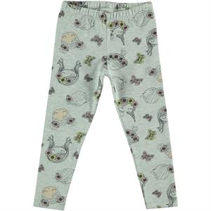 Cvl Girl Girl Boy Gray Long Tights 2-5 Years