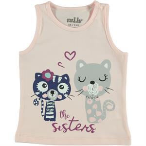 Kujju Baby Girl T-Shirt Powder Pink 6-18 Months