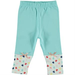 Kujju 6-18 Months Baby Girl Mint Green Long Tights