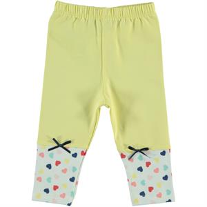 Kujju Baby Girl Yellow Long Tights 6-18 Months