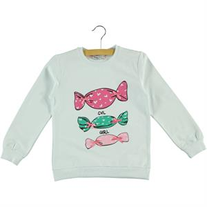Cvl Kids Sweatshirt With White Girl Age 6-9