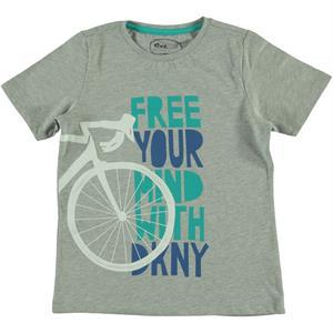 Cvl Boy T-Shirt Age 6-9 Gray