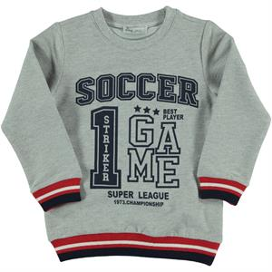 Cvl 2-5 Years Navy Blue Boy's Sweatshirt