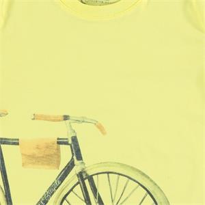 Cvl Boy T-Shirt Age 6-9 Yellow (2)