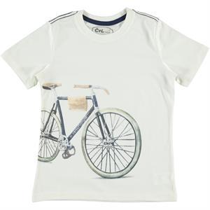 Cvl Boy T-Shirt Age 6-9 Ecru