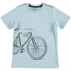 Cvl Boy T-Shirt Age 6-9 Blue