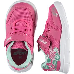 Sport 26-30 Girl Kids Sport Shoes Fuchsia Number