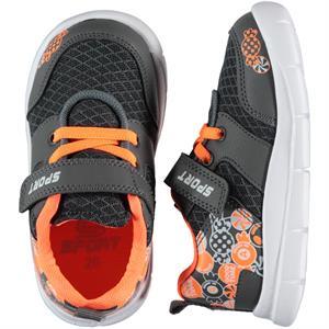 Sport Erkek Çocuk Spor Ayakkabı 26-30 Numara Füme