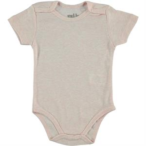 Kujju Bodysuit With Snaps, Pink, 3-9 Months