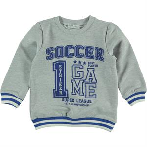Cvl Boy Blue Sweatshirt Saks 2-5 Years