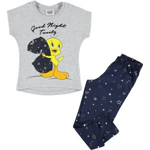 TWEETY Team Tweety Girl Slumber Grey 2-5 Years