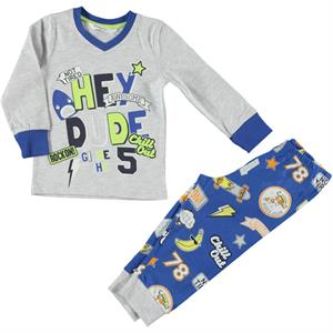 Roly Poly Team Gray Pajama Boy Age 1-4