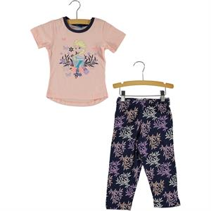 Frozen Age 1-4 Girl Pink Pajama Team