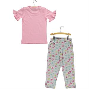 Roly Poly A Pajama Outfit Pink Girl 5-8 Years (2)