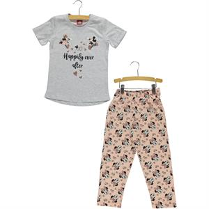 Mickey ve Arkadaşları Mickey Mouse and his friends in a team 5-8 years girls pyjama Grey