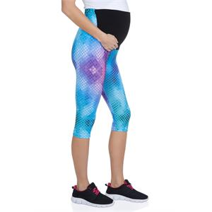 LuvmaBelly 8019 Maternity - Cotton Belly-Pregnant Tights Capri Yoga Sport Series Assisted (2)