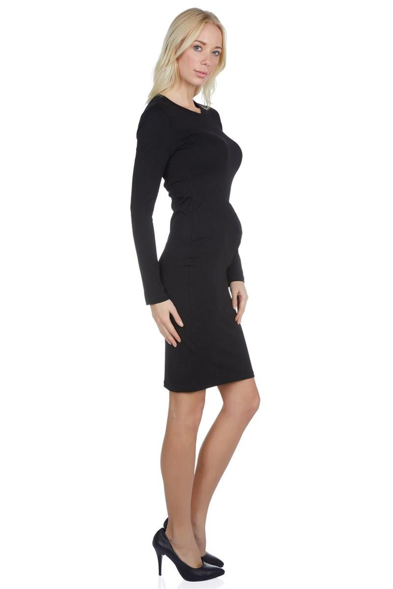 LuvmaBelly 5310 long sleeve maternity dress