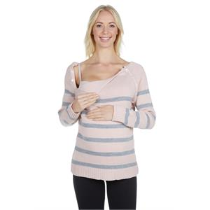 LuvmaBelly On the other hand 7150_7152 Postpartum lactation buttoned Sweater