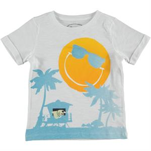 Cvl Boy T-Shirt White 2-5 Years