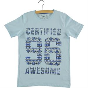 Cvl Boy T-Shirt Blue Age 10-13