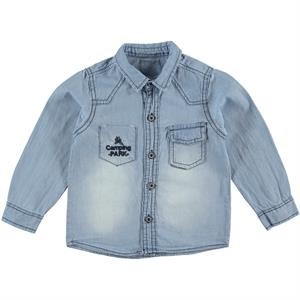 Civil Boys 2-5 Years Blue Jeans Boy Shirt