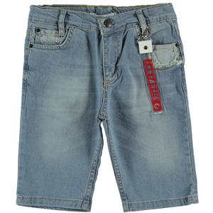 Civil Boys Age 6-9 Boy Blue Capri Jeans