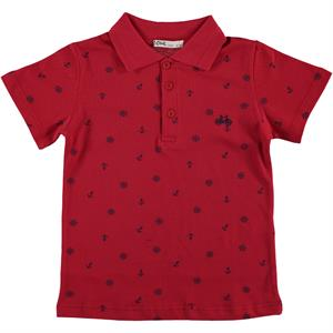 Civil Boys Boy T-Shirt Age 6-9 Red