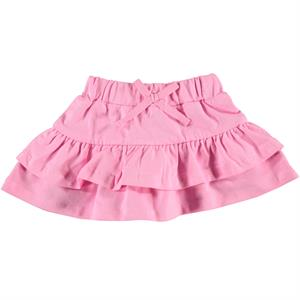 Kujju Baby Girl Frilly Skirt, Pink, 6-18 Months