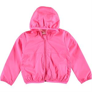Civil Girls Fuchsia Hooded Raincoat Girl Age 2-5